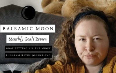 1st Balsamic Moon End of the Month Goals Review