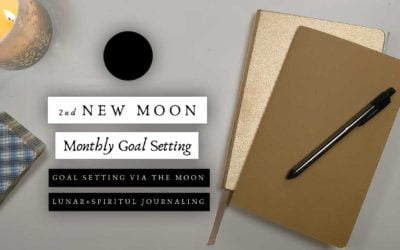 2nd New Moon Monthly Goal Setting   Goal Setting via the Moon