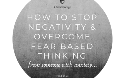 How To Stop Negative Thinking With This One Journaling Exercise… From Someone With Anxiety.