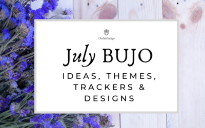 July Bullet Journal Ideas Themes Trackers & Designs