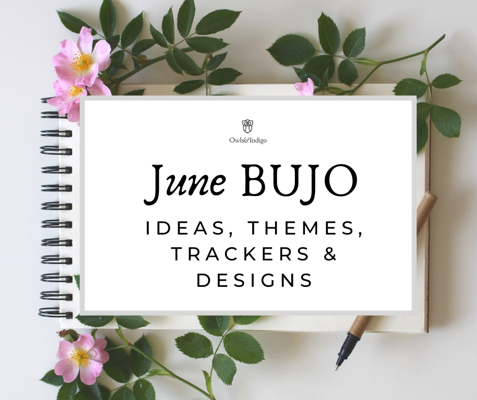 June Bullet Journal Ideas Themes Trackers & Designs