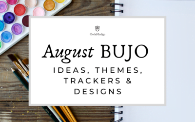 August Bullet Journal Ideas Themes Trackers & Designs
