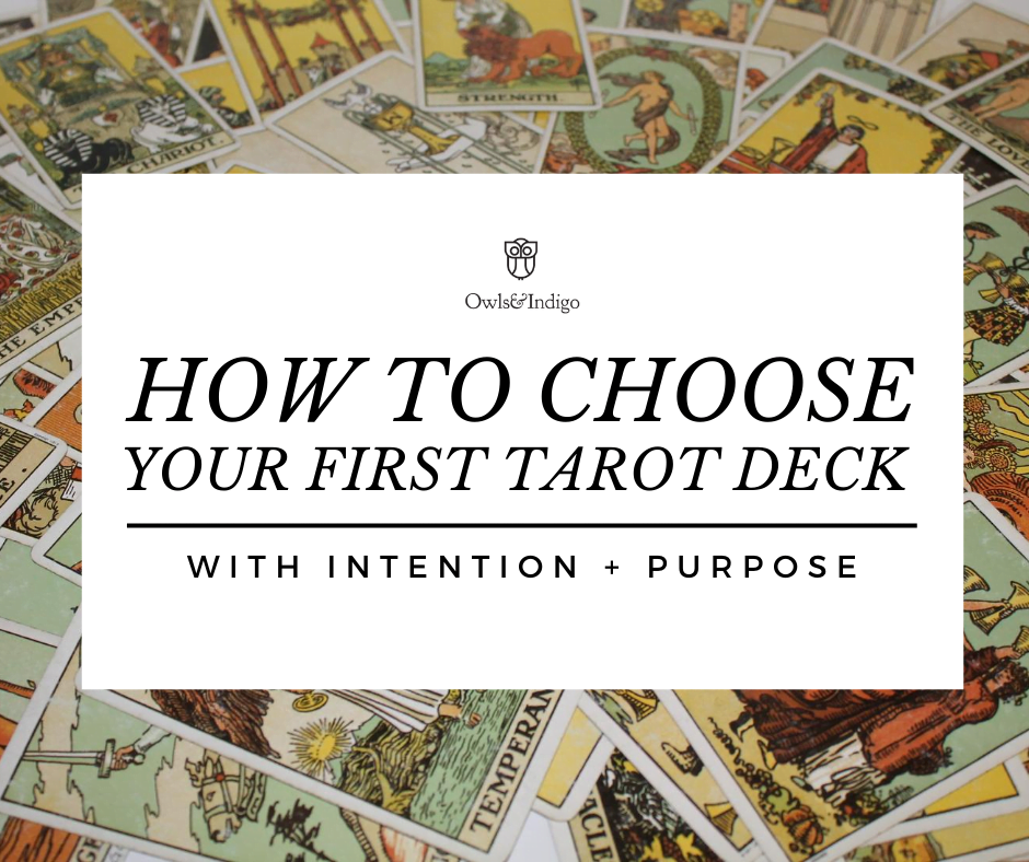 How To Choose A Tarot Deck - featured image