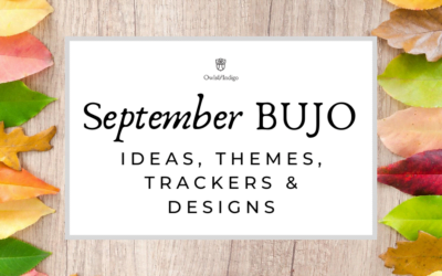 September Bullet Journal Ideas Themes Trackers & Designs for Fall & Autumn