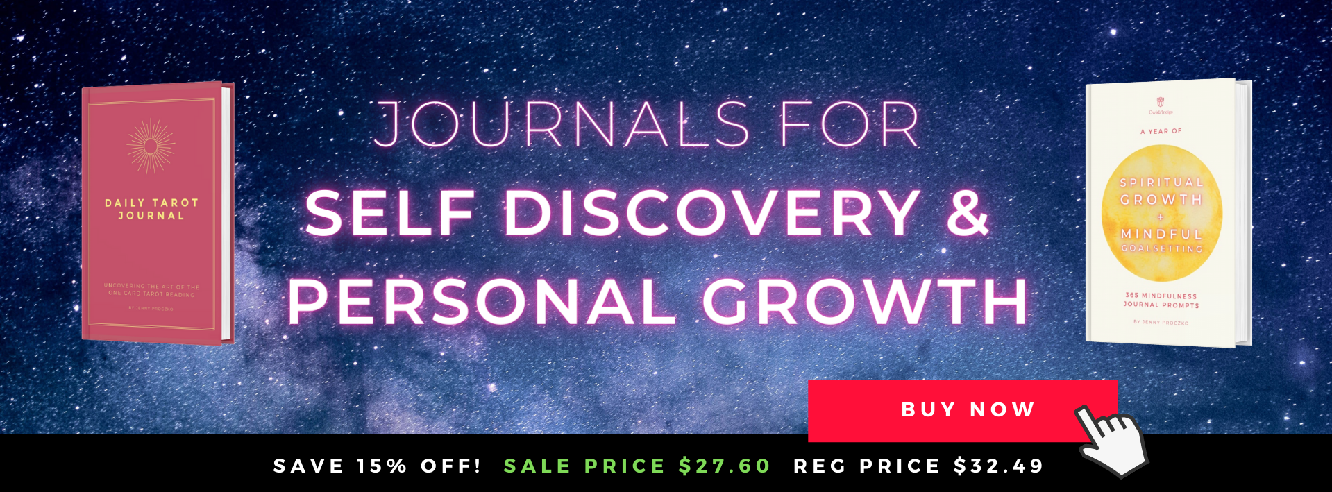 Two Awesome Journals For Self Discovery & Personal Growth by Owls & Indigo