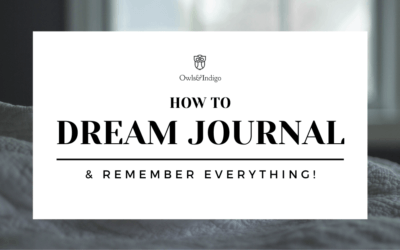 How To Dream Journal